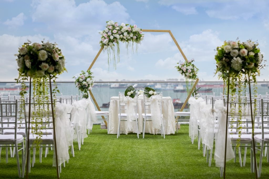 Whimsical | Affordable Wedding Venues | Sky Garden