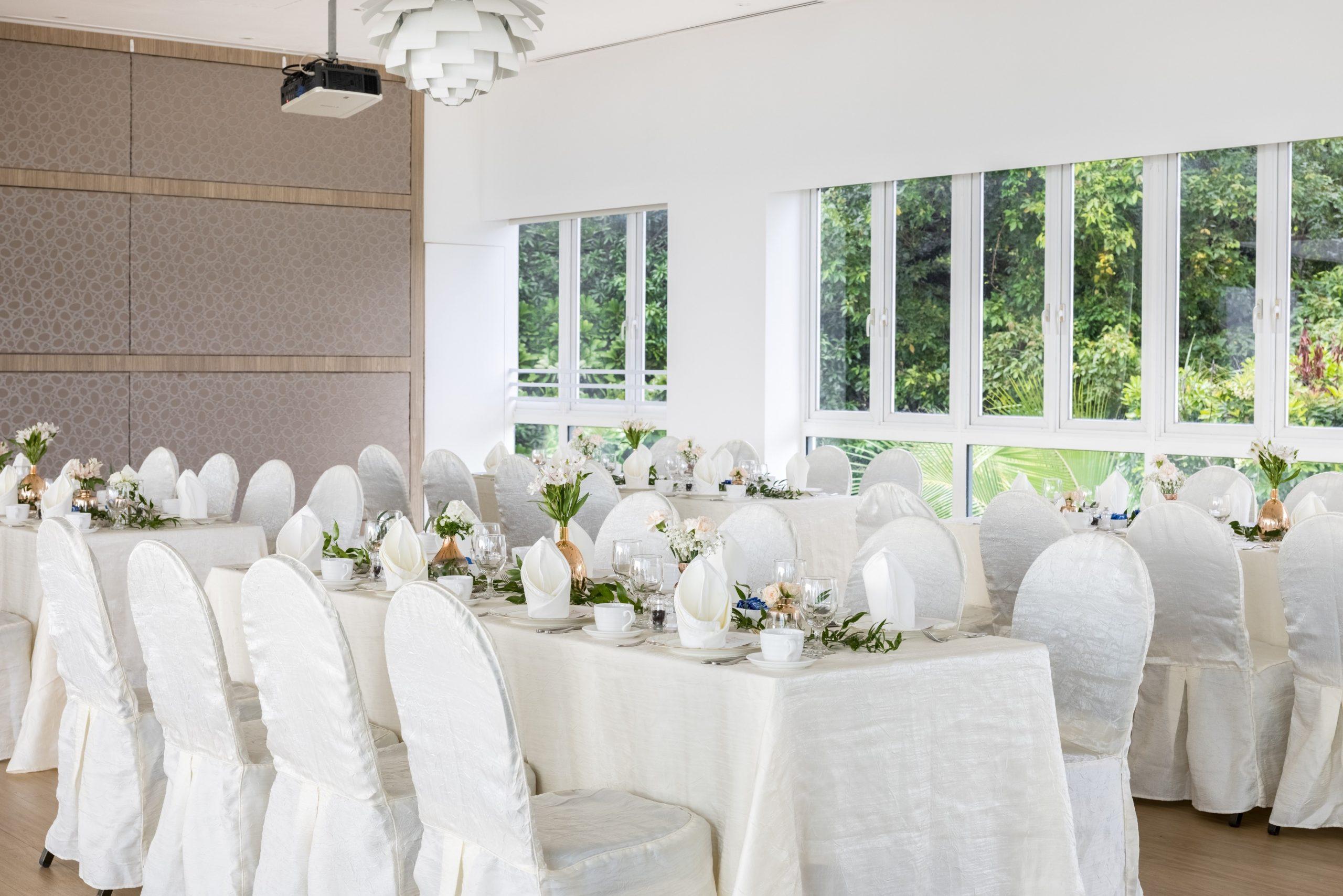 Beautiful Rooftop Wedding Venue | Sky Garden Sentosa